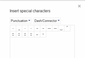 Google Docs Insert Symbol