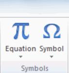 Insert symbol graphic