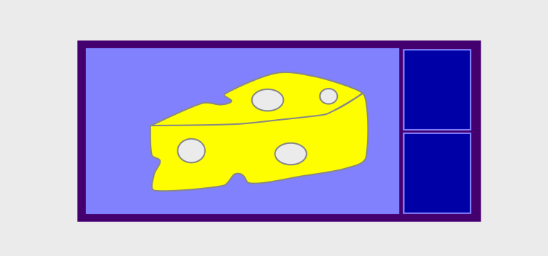 Cheese in bed graphic