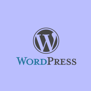 WordPress logo graphic