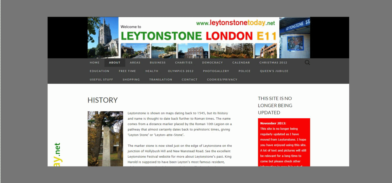 Leytonstone Today website