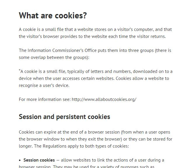 Privacy and cookies graphic