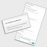 EU Cookie widget