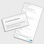 EU Cookie widget
