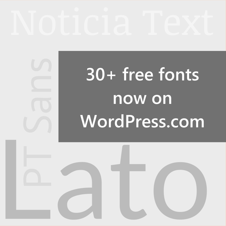 Free fonts graphic