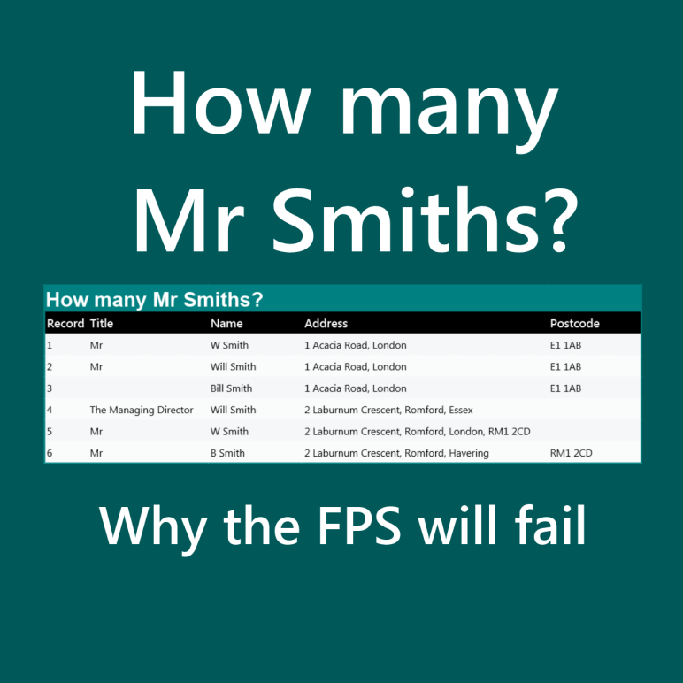 How many Mr Smiths graphic